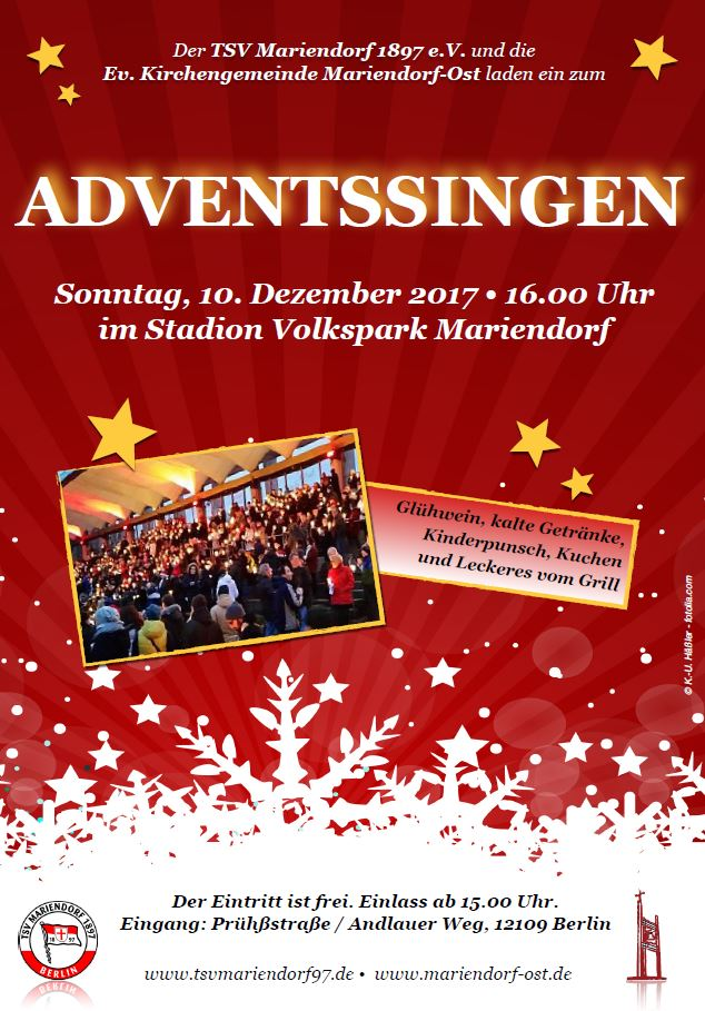 2017 TSV Mariendorf Adventssingen