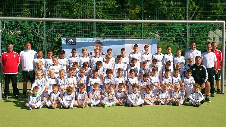 Gruppenbild Real Madrid Camp