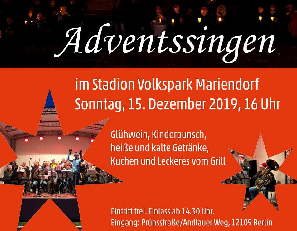save the date 2 Adventssingen 2019